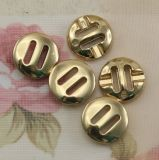 Il Fashion ABS Plating Fadeless Gold 2-Holes Button