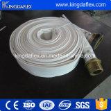 Forro de PVC flexível Mangueira de combate a incêndio com acoplamentos