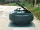 15W de Zonne Aangedreven Zonne ZolderVentilators van de Ventilatie 14inch (SN2013007)