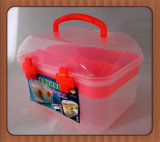Medicine를 위한 높은 Quality Colored PP Plastic Storage Toolbox