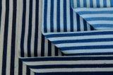 8.5OZ Indigo Stripe хлопок полиэстер спандекс джинсовой ткани