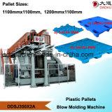 Plastiktellersegment-Strangpresßling-Blasformen-Maschine