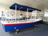 taxi de l'eau de fibre de verre de 5.8m à vendre le bateau de Panga de bateau de pêche de Fiberlgass