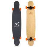 """스케이트보드 Longboard는 잡종 건축 대나무 46*9.5 """" Mk W003-1를 5 부지런히 쓴다"""