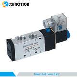 Электромагнитный клапан пневматического Xhnotion 12В постоянного тока 3 Нормально замкнутый пневматического алюминиевых электрический соленоид клапана подачи воздуха