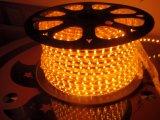 The110V/220V 높은 광도 Hight 전압 밧줄 Lgiht를 위한 노란 색깔