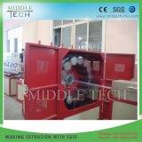 플라스틱 연약한 PVC 정원 섬유에 의하여 땋아지는 강화된 관 또는 관 또는 호스 밀어남 생산 라인