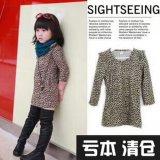 Impreso de leopardo chica Casual vestido corto