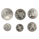 カスタムフルセットの記念品トークン硬貨