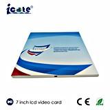 A5 Größe 7 '' LCD-videobroschüre-Gebrauch für Darstellung