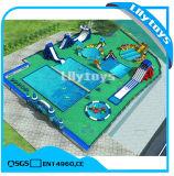 Aufblasbarer beweglicher Wasser-Park für Kinder und Erwachsene
