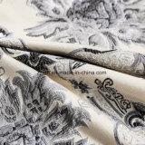 Tessuto tinto europeo ed americano del jacquard del sofà della tappezzeria del filato di poliestere del mercato per il sofà