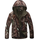 Airsoftの鮫の皮の柔らかいシェルの屋外の軍の戦術的なジャケット