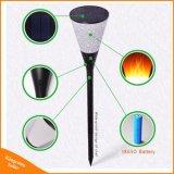 Der Weinglas-Form-LED flackernde Lampe Solarfackel-Flamme-Licht-wasserdichte Garten-des Hof-96 LED