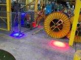 LED de color rojo y azul, rojo superior de la luz de la luz de advertencia de seguridad de la grúa