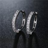 中国卸し売りAAA CZは女性のたがのイヤリングの黄銅の宝石類のための宝石類を作る