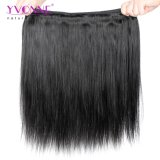 卸売100%の人間の毛髪の自然でまっすぐな人間の毛髪の織り方