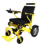 Poids léger pliant des prix de fauteuil roulant électrique des gosses