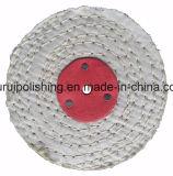 Roda de lustro lustrando do sisal para o metal