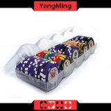 : El acrílico transparente dedicado de la viruta de póker de la arcilla del casino friega la caja de las virutas (YM-CT12)