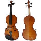 Оптовые скрипки студента твердой древесины с свободно случаем, Bow&Rosin