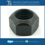 Noix Hex galvanisée de blocage en métal de DIN980V