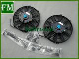 Riga 3 tutto il radiatore di alluminio per un NOVA delle 62 - 67 Chevrolet