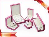 Cuero de lujo joyas Joyas de cajas de regalo cajas contenedores