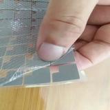 Folha macia 1W/M*K da borracha de silicone da transferência térmica para a iluminação do diodo emissor de luz