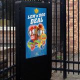 Signage van het Meubilair van de straat de Digitale OpenluchtVertoning van de Reclame LCD