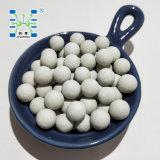 Esferas cerâmicas inertes como o catalizador e o enchimento
