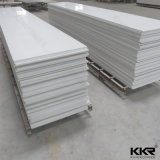Superficie solida acrilica bianca pura di vendita calda di pietra artificiale
