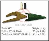 конструкция 18tl оборудует зубы ведра для землечерек
