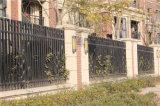 Dessus plat acier industriel clôtures résidentielles personnalisé