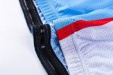OEM-Китай дышащий материал пользовательского цикла Джерси, велосипедные прогулки на велосипеде износа футболки на заказ
