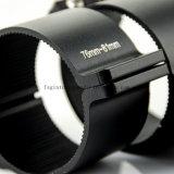 negro de 76-81m m/consola de montaje fuerte de aluminio de la barra ligera de la hebra LED (SG005)