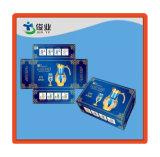 Caisse d'emballage moyenne de cuvette de cadre de couleur de papier avec des articles de ménage