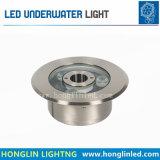 照明Intiground IP68は6W LEDの水中ランプを防水する