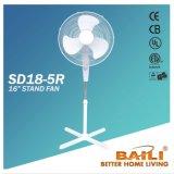 Вентилятор стойки 18 дюймов с дистанционным управлением
