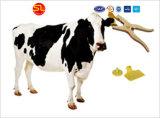 Des Qualitäts-Laser-Uid Tierohr-Marke Zahl-Drucken-RFID Em4305/Tiermarke mit Fabrik-Preis
