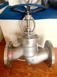 Brida de la rueda de mano de acero inoxidable de la válvula de globo