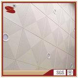 Le plafond en aluminium meilleur marché couvre de tuiles des matériaux pour le bureau
