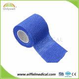 Fasciatura coesiva flessibile impermeabile di alta qualità di assistenza medica