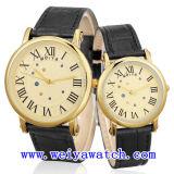 남녀 공통을%s 가진 고전적인 승진 사업 시계 시계 (WY-1080GC)