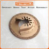 """64mm (2-1/2"""") Carbide Grit oscillant Outil de découpe circulaire de la lame de scie"""