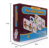 Papel de Educatioal Toys/3D dos miúdos que aprende o cartão do enigma