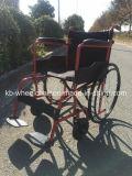 Plegamiento fácil, sillón de ruedas manual con el certificado del Ce