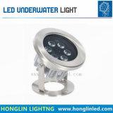 수영풀을%s 방수 IP68 18W LED 수중 반점 빛