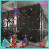 El tanque de agua de acero esmaltado el panel de acero