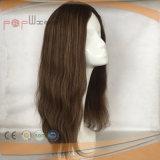 Parrucca cascer ebrea delle donne dei capelli umani
